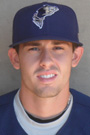 Former UT Vols baseball player Zach Osborne in the minor leagues